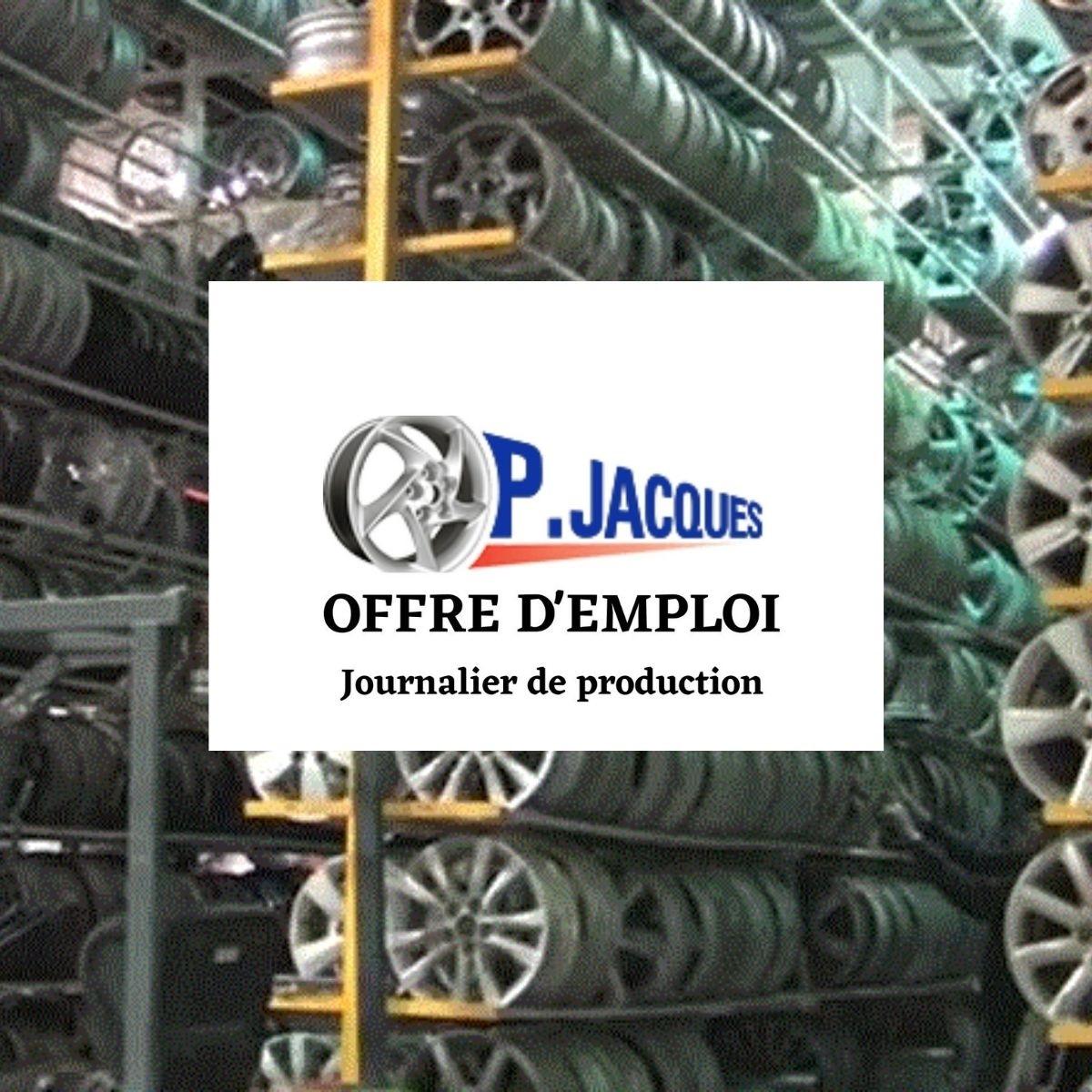 Journalier(ère) de production